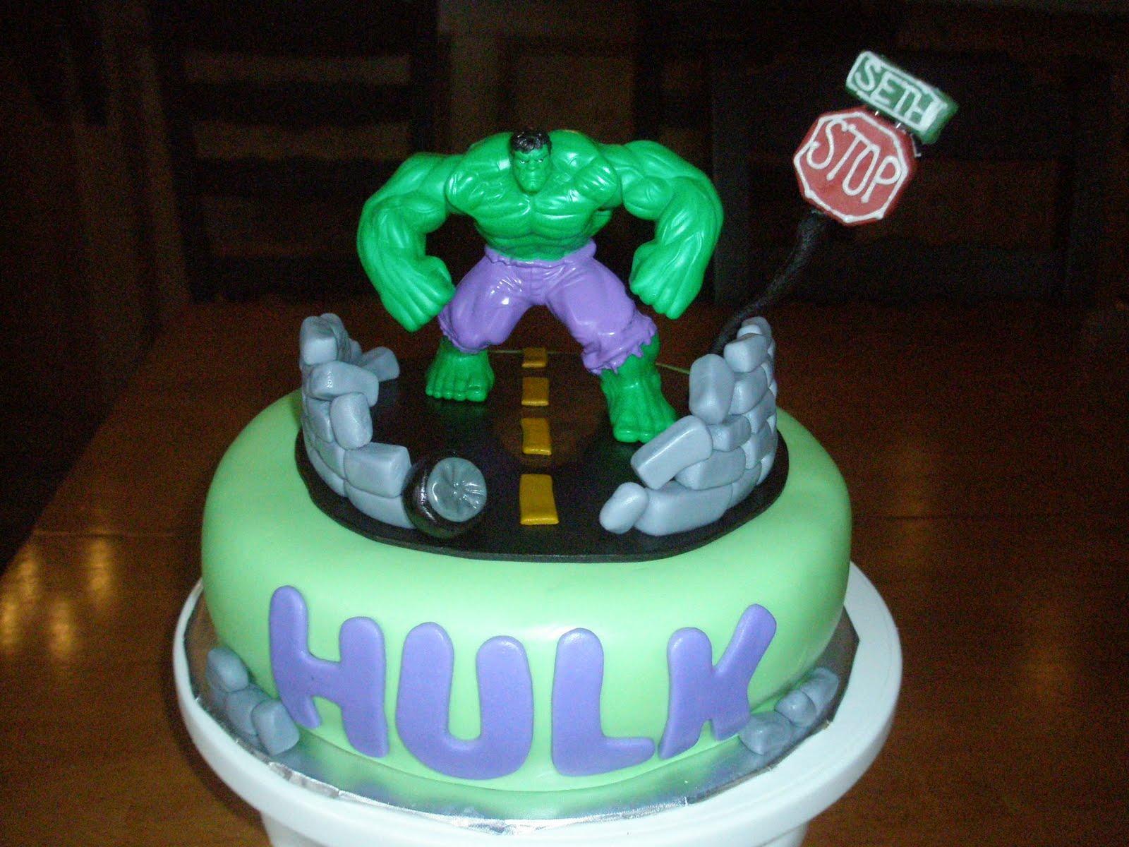 Bjs Cake Hulk