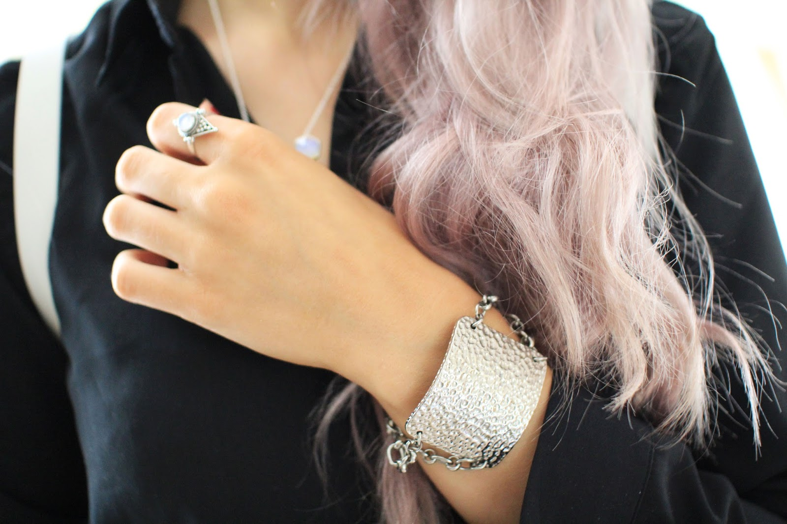 anna lou of london textured bracelet