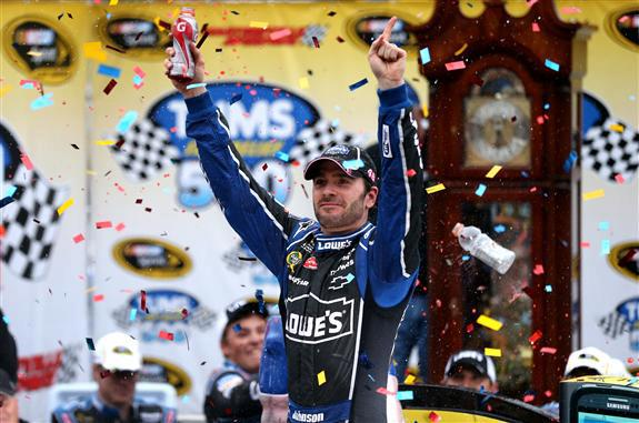 Jimmie Johnson Wins Tums Fast Relief 500 6
