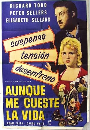 Never Let Go French Film Poster