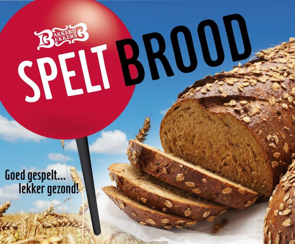 Spelt (bio) brood gezond.