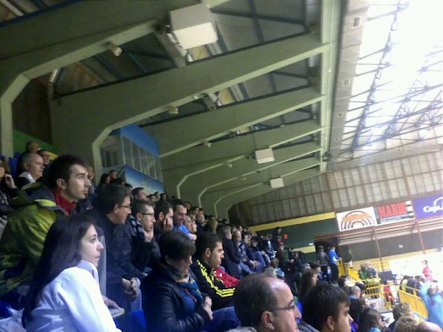 espectadores del encuentro del Bejarano BM, BM Delicias de Valladolid