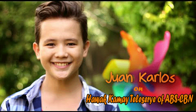 Juan Karlos of The Voice Kids on Hawak Kamay Teleserye of ABS-CBN