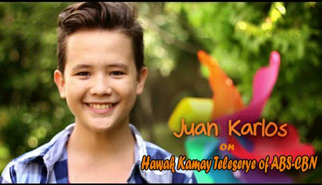 Juan Karlos of The Voice Kids on Hawak Kamay Teleserye of ABS-CBN