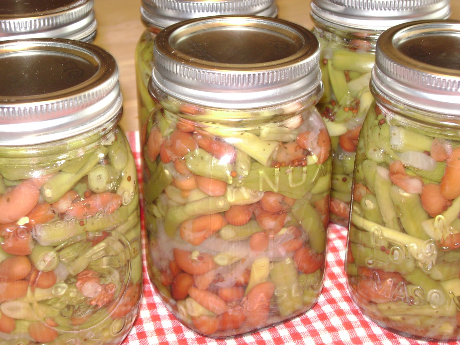 TSG: Pickled Three Bean Salad for Canning