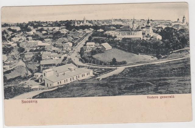 Panorama Suceava interbelica