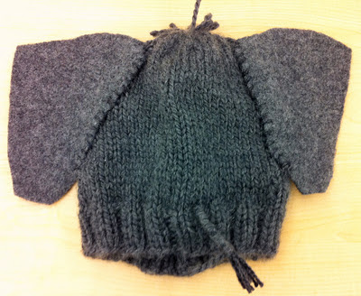 Knitting Pattern For Elephant Hat : One Knit One Purl: Elephant Hat