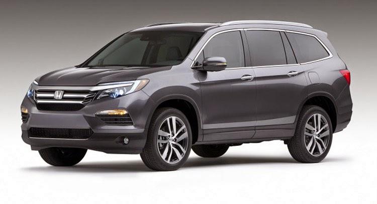 2016 Honda Pilot Chicago Auto Show Debut