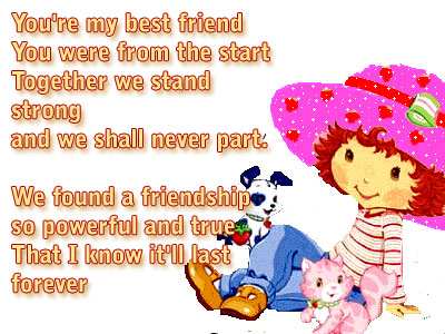 best friend poems for girls. friendship poems for girls. i