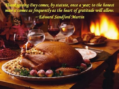 Famous Thanksgiving Pictures And Quotes
