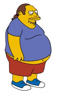 Personajes muy frikis - Jeff Albertson, el vendedor de cómics de los Simpsons