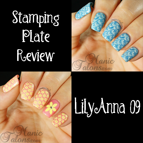 Lily Anna Stamping Plate Review