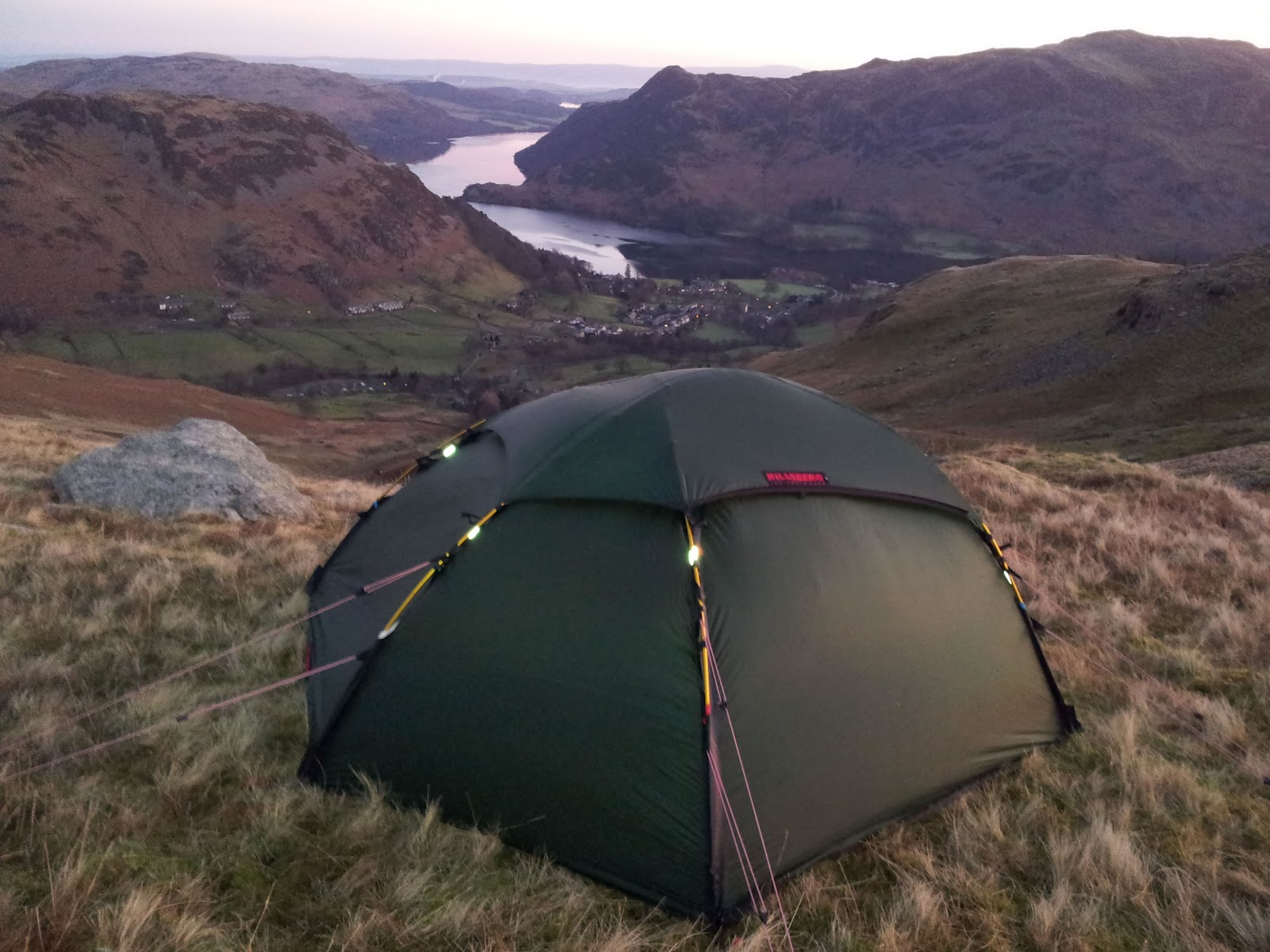 Wild Camping: Selling some tents