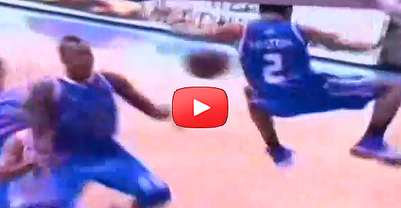 Alex Mallari to Justin Melton's INSANE Alley-Oop Throwdown (VIDEO)