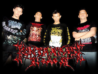 Kontaminasi Jiwa Band Death Metal Deathcore Banda Aceh Indonesia Foto Logo Wallpaper Album