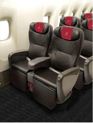 The new JAL Class J seat