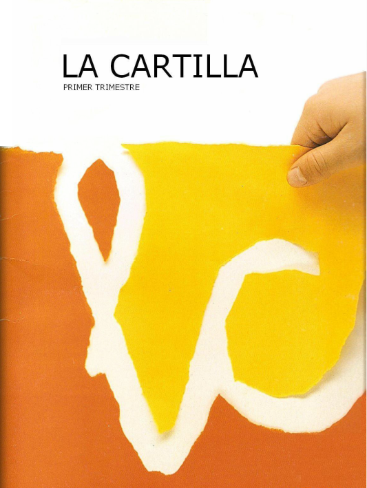 Cartilla de lectura 1