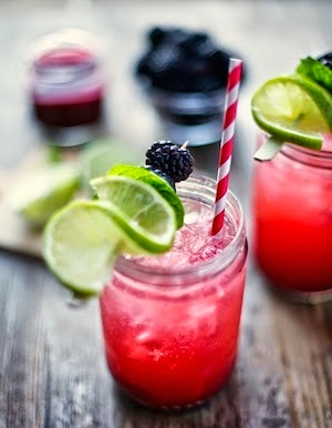 Blackberry Smash | acalculatedwhisk.com