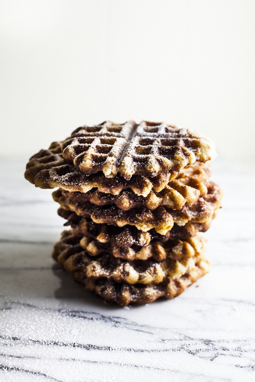 Liège Waffles | hummingbird high || a desserts and baking blog