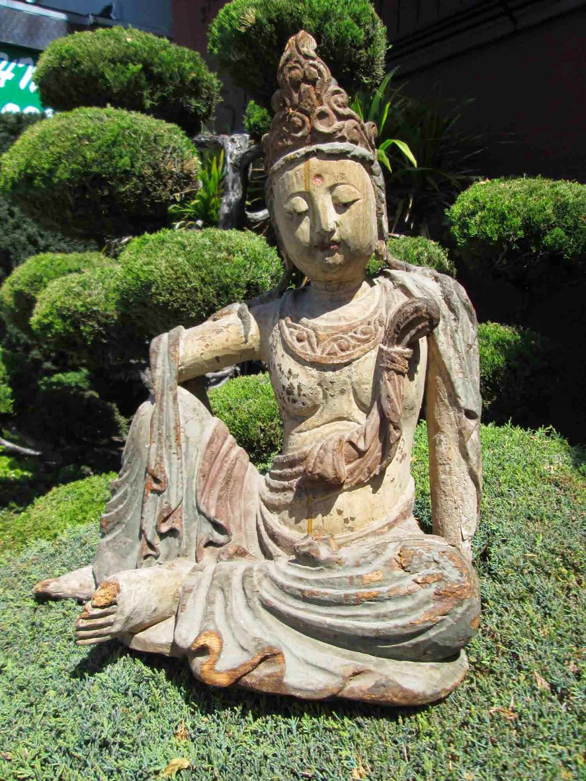 UHURU FURNITURE Amp COLLECTIBLES SOLD Wooden Quan Yin