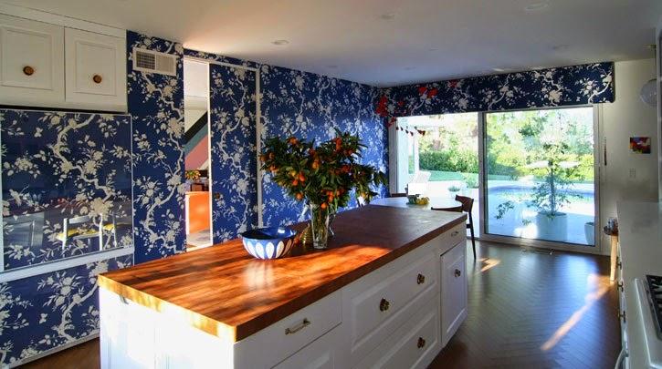 Papier peint pour cuisine design id es d co moderne - Papier peint vinyl pour cuisine ...
