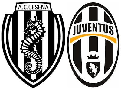 Cesena Juventus streaming