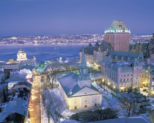 quebec city has long been on my list of places to visit it looks like such a charming and wonderful city and the romantic in me would love to bundle up and - Quebec City Christmas
