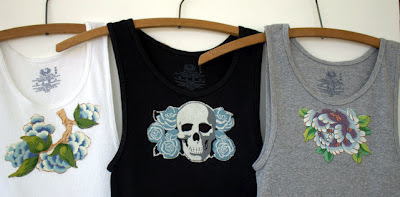 embellished wife beater tanks
