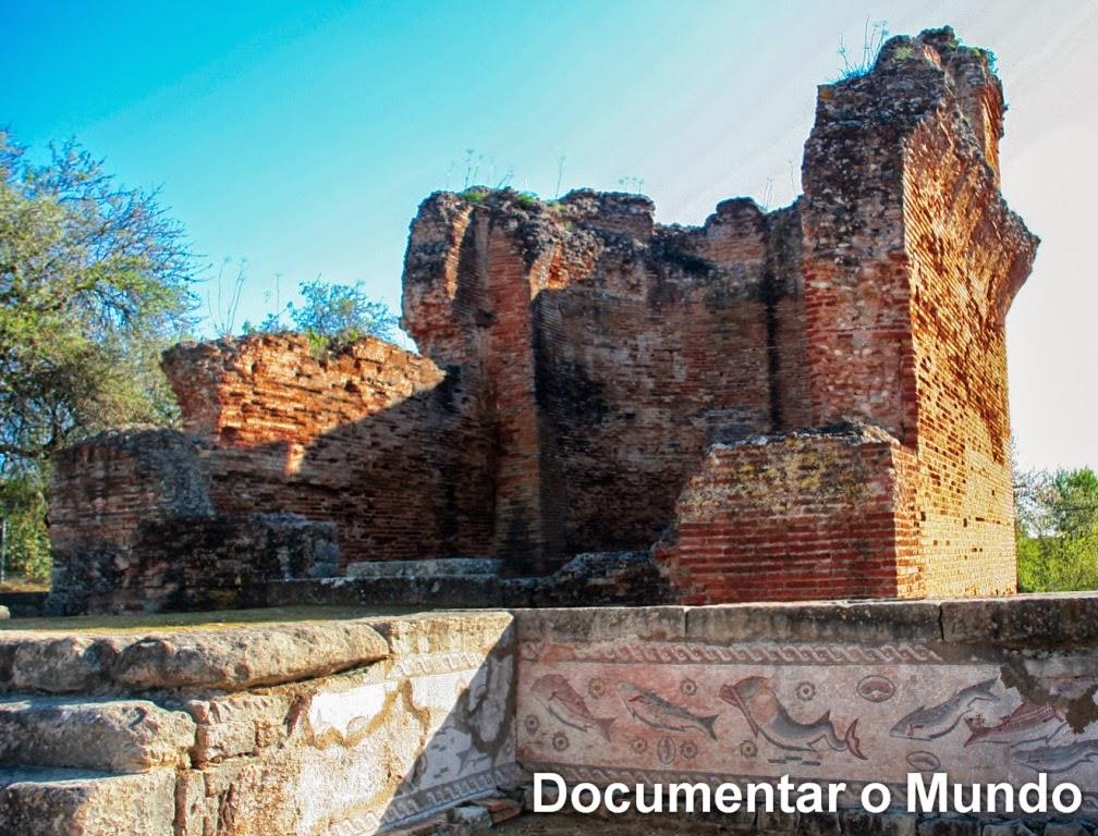 Ruínas de Milreu; Vestígios Romanos em Portugal; Algarve; Estói