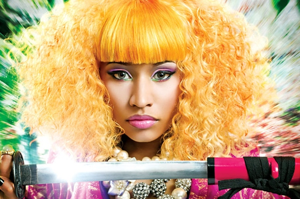 nicki minaj hairstyles with bangs. nicki minaj quotes 2010
