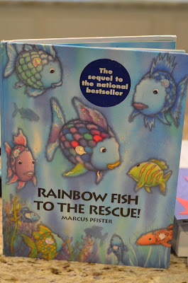 Structured play rainbow fish activity for Rainbow fish to the rescue