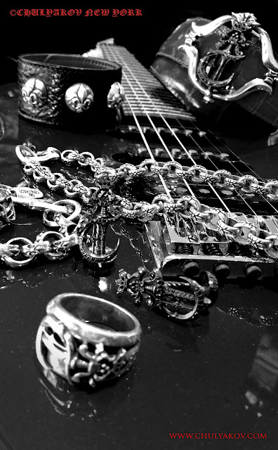 Rock N Roll 169 Chulyakov New York Silver Jewelry And