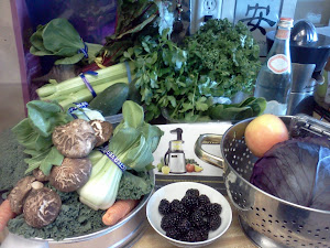 #1 Food Therapy Go Green by JUICING -  My Super Greens Selection!