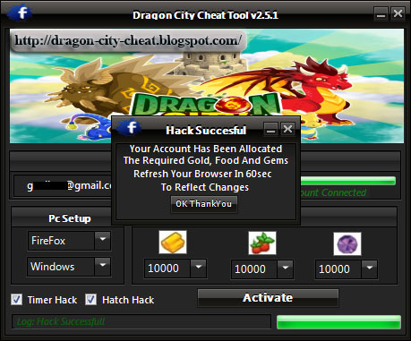 Dragon City Hack v2 .0 Free Download JUNE 2013 | Dragon City Hack