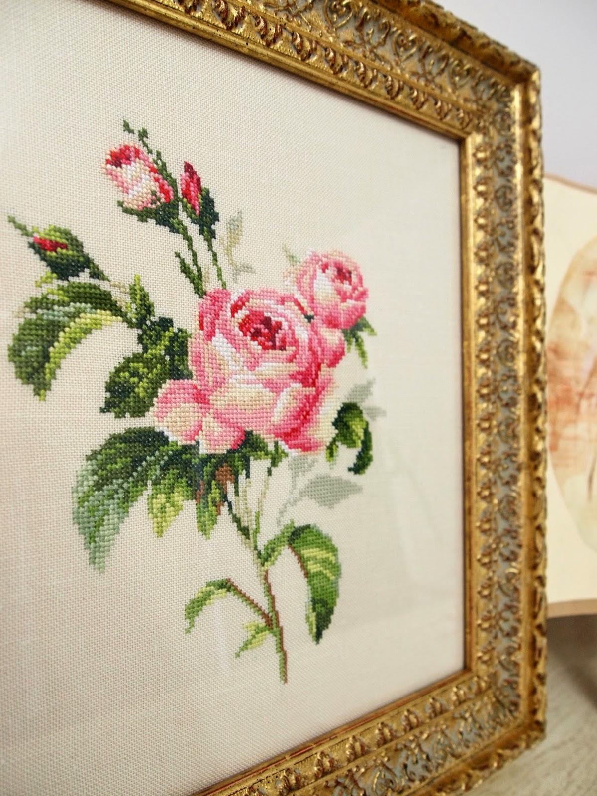 Вышивка крестом розы от алисы 47