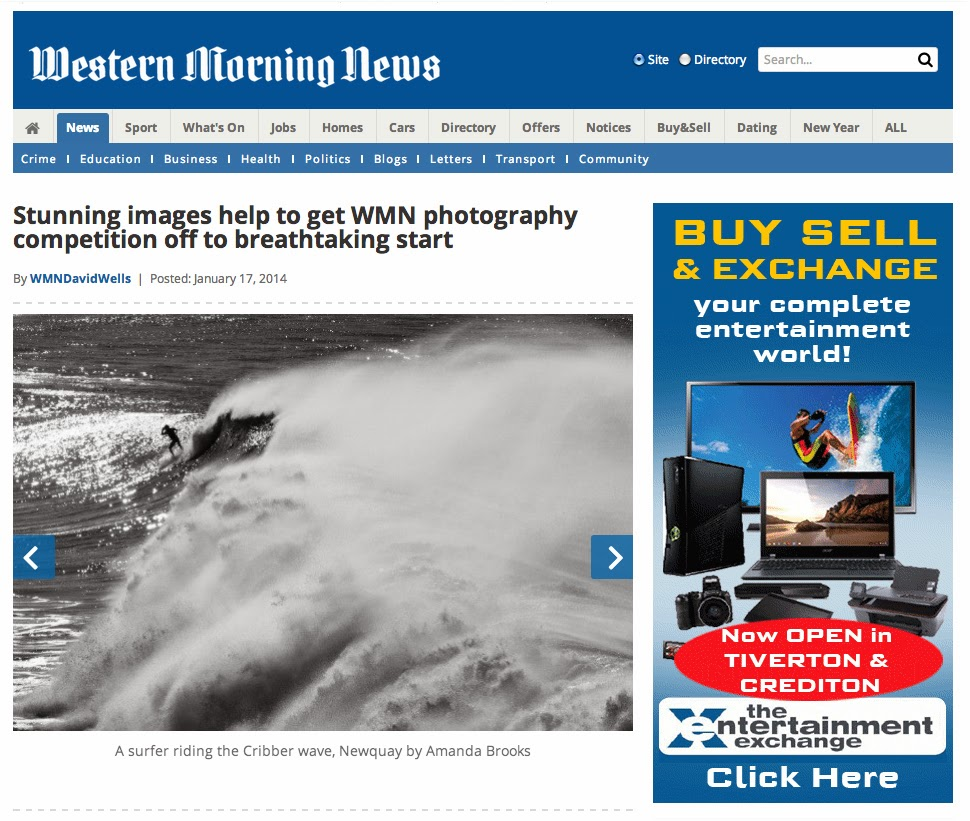 Photobrook Photography in the western morning news