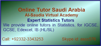 Online Stats tuition in Saudi Arabia