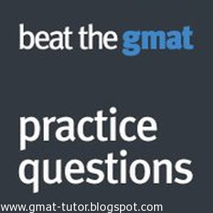 GMAT preparation questions