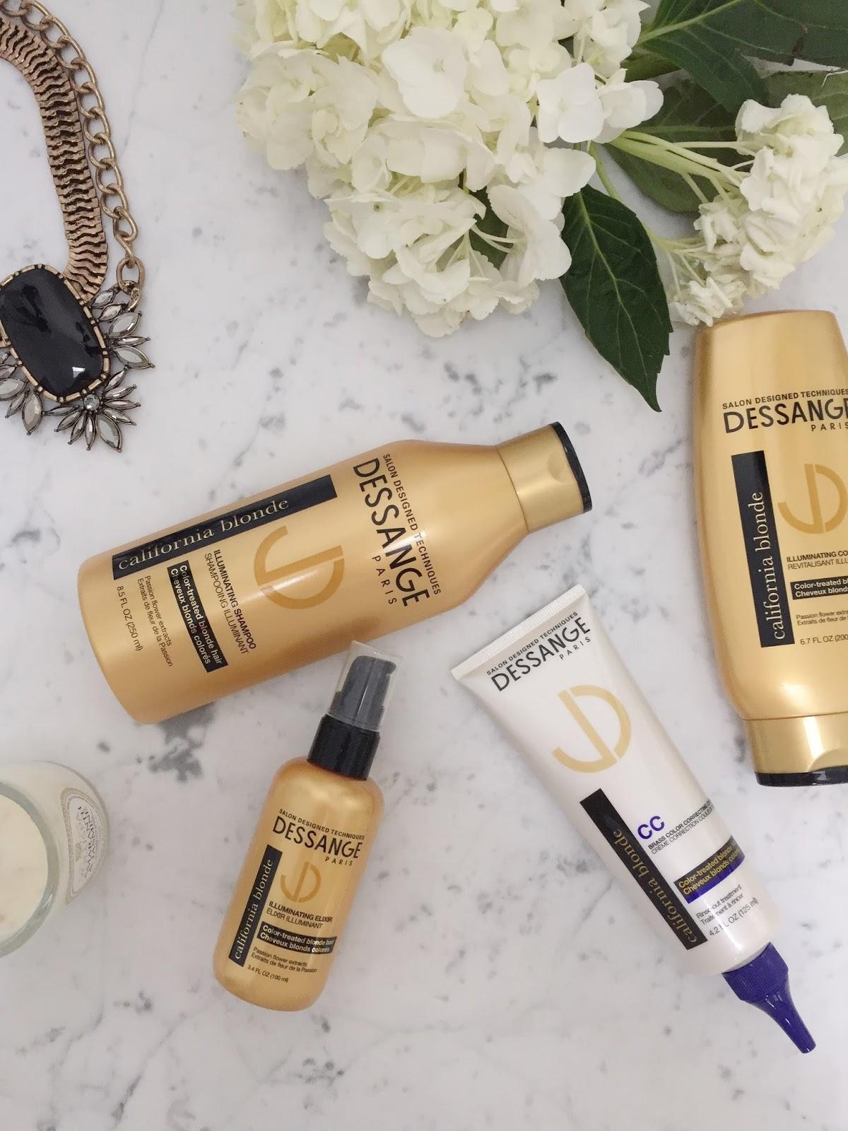Beauty Review Dessange California Blonde Hair Treatment