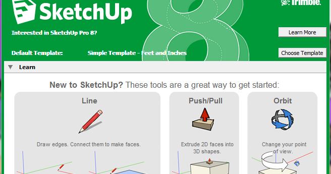 download google sketchup aplikasi membuat bangunan pc