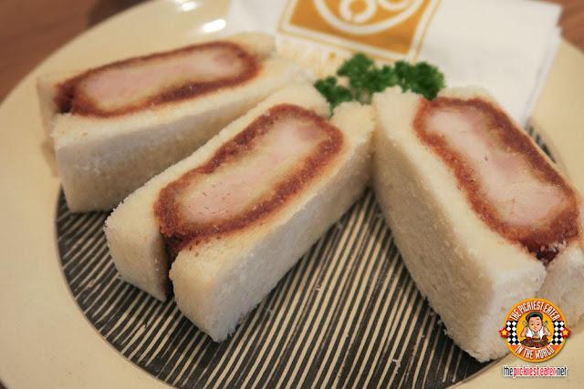 Katsu sandwich Canon G7 X Interior shots