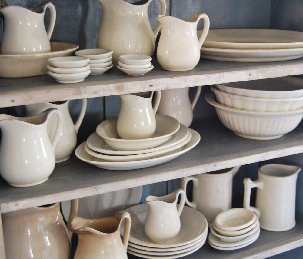 My Antique Ironstone Collection & Frog Goes to Market: My Antique Ironstone Collection