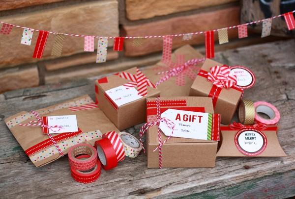 washi tape presents