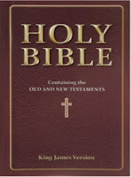 a photo of a brown leather Holy Bible