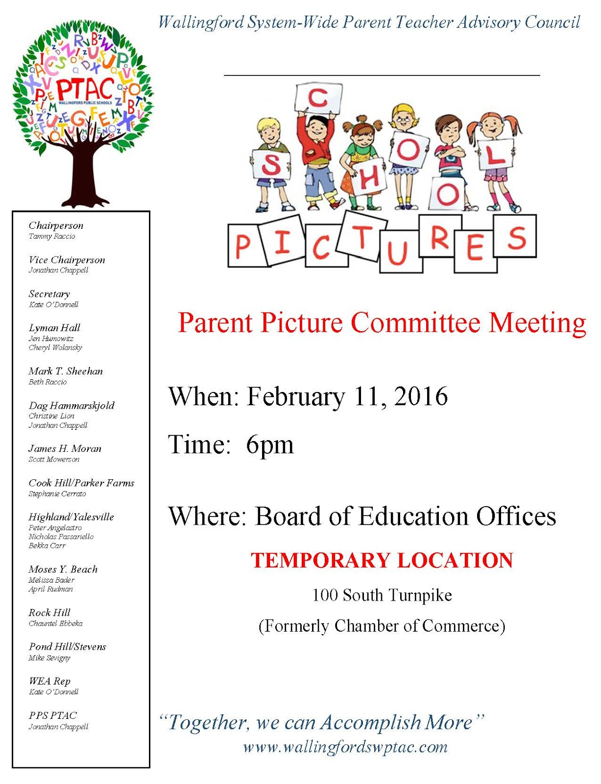 Parent Meeting Flyer Template