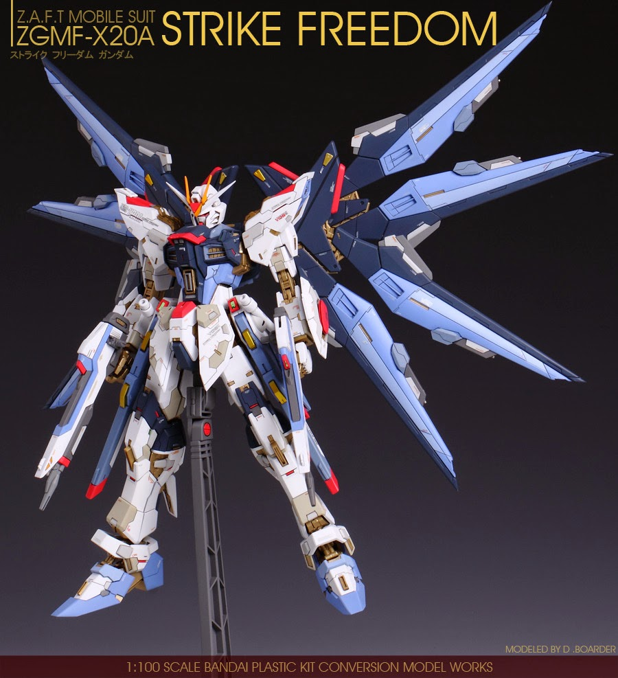 GUNDAM GUY: MG 1/100 Strike Freedom Gundam + Conversion ...