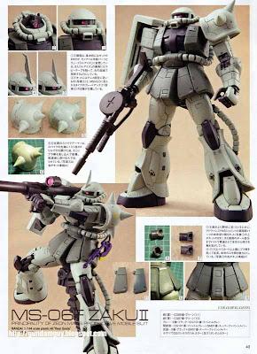 RG 1/144 MS-06F Mass Production Zaku II