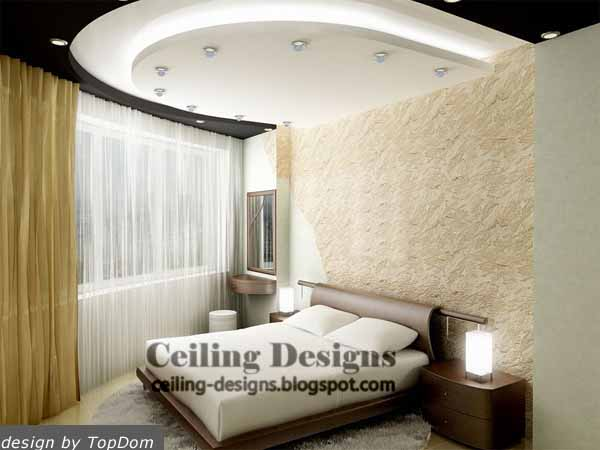 False ceiling designs for bedrooms collection for Bedroom gypsum ceiling designs photos