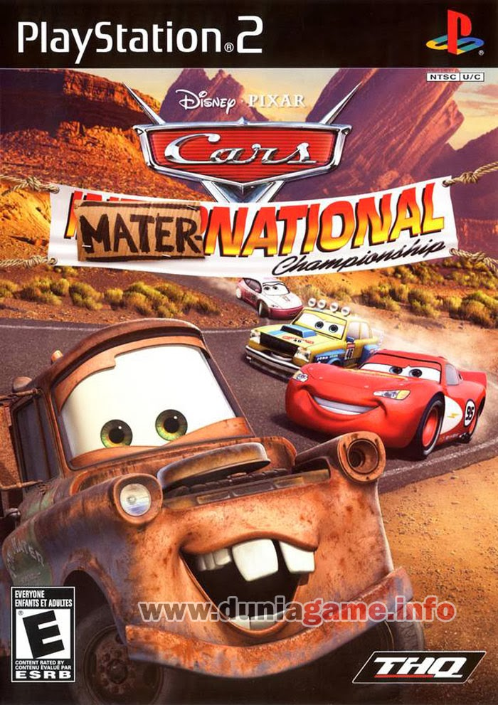 CARS MATER NATIONAL PS2 ISO