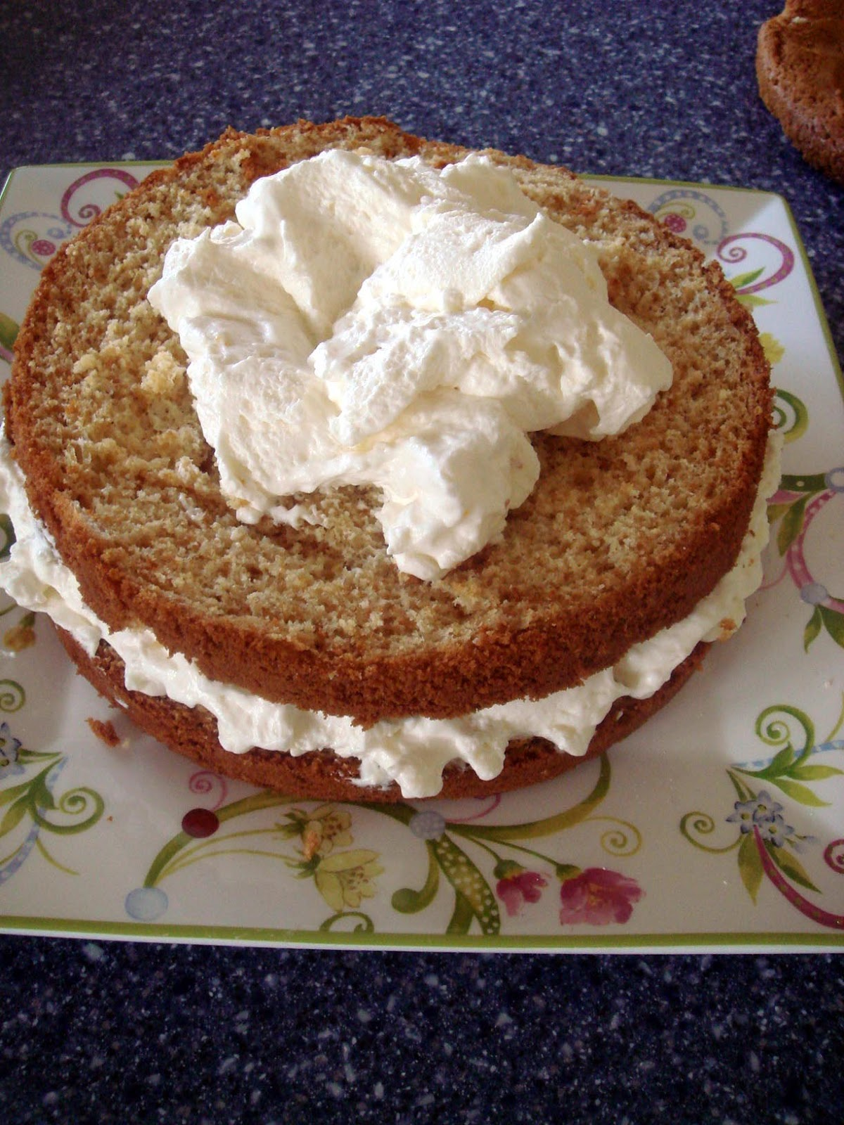 Honey Layer Cake With Orange Mousse